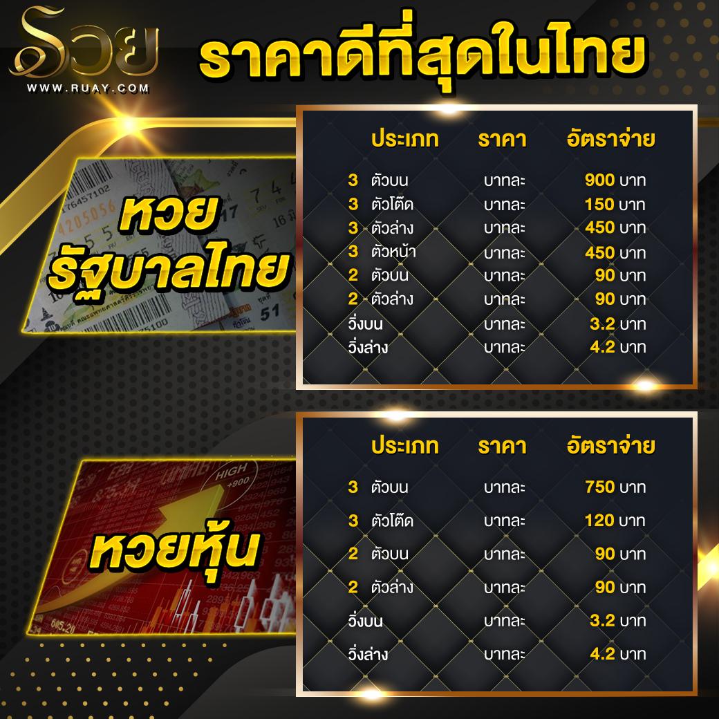 เว็บรวยเว็บเล่นหวยที่ไทยนิยม